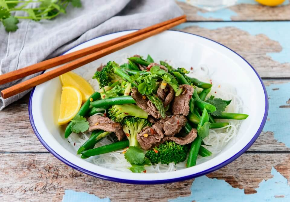 Garlic-Ginger-Beef-Stirfry