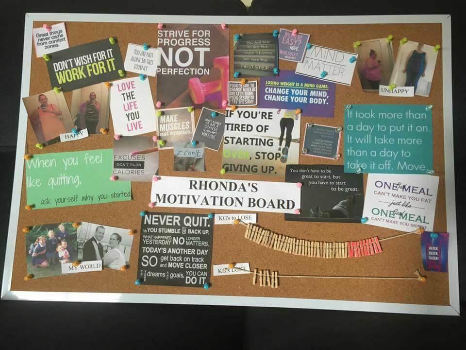 Rhonda-Thredgold-motivation-board