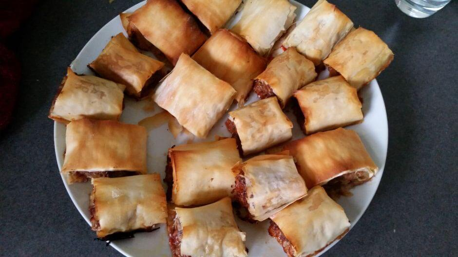 Healthy Hidden veggie sausage rolls for back to school lunches