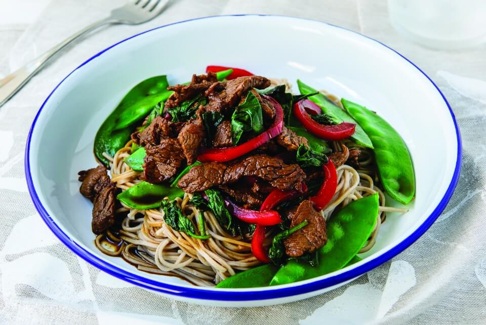 Chinese-Beef-And-Snow-Pea-Stir-Fry