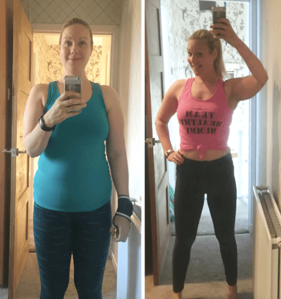 Siobhan weight loss results